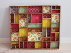 New printer paper storage ideas shadow box 61 Ideas Paper Storage, Craft Storage, Storage Ideas, Wallpaper Shelves, Shadow Box Art, Moroccan Pattern, Home And Deco, Diy Organization, Decoration