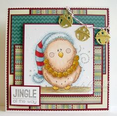 Jingle Bell Owl - Dies to Die for DT card (via Bloglovin.com )