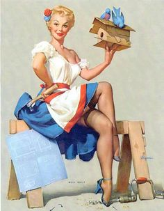 Gil Elvgren by j_naturalia, via Flickr