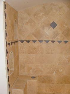 Tucson Custom Tile Floor and Bathroom Southwest Decor