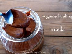 vegan & healthy nutella
