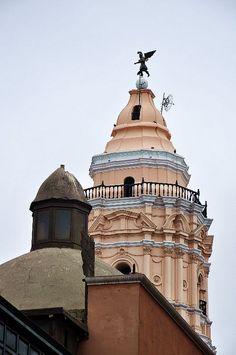 Lima, Perú. IGLESIA DE SANTO DOMINGO EN LIMA CAPITAL DEL PERÚ.