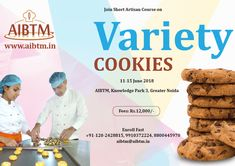 Start your career with bakery courses training under world-class mentors. Choose bakery certification courses, bakery management courses or bakery confectionery courses for ever-growing career. Short Courses, Confectionery, Bakery, Artisan, June, Cookies, Food, Crack Crackers, Eten