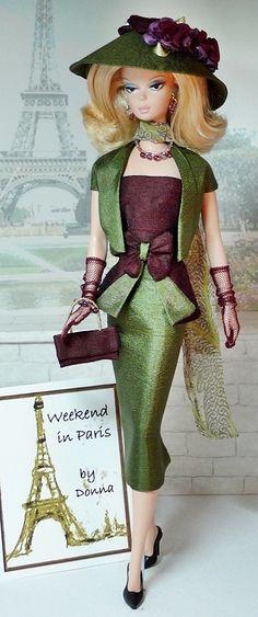 ~Weekend in Paris~ Beautiful Fashion Doll Clothing