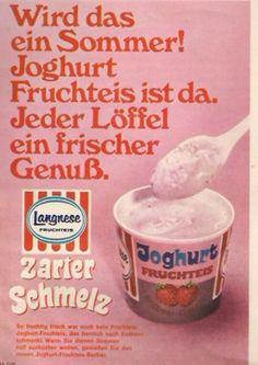 Kult Eis der 80er Jahre, wehe wenn der Löffel verloren ging oder erst gar nicht vorhanden war..