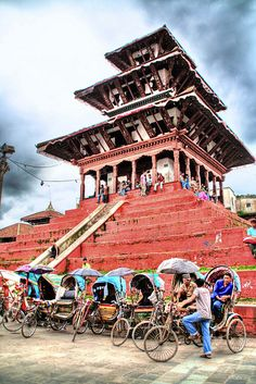 Kathmandu Nepal - Located at the Foothills of the Himalayas