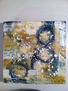Encaustic by Marilyn McCandless Mixed Media Painting, Mixed Media Art, Altered Canvas, Encaustic Painting, Art Abstrait, Crayons, Art Journaling, Arts, Collage Art