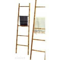 Scaletta in bambù porta asciugamani