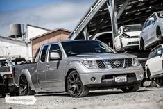 Virtual reality: scratch-built Navara — The Motorhood Mini Trucks, Cool Trucks, Nissan Navara 4x4, Frontier Truck, Navara D40, Camaro 2ss, Dodge Stratus, Nissan Trucks, Custom Chevy Trucks