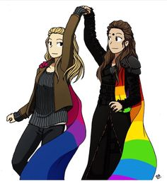 Lexa and Clarke - love this show!
