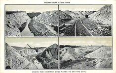 """Giant Shovel on Strip Mine Fight: 1973 Surface Mining, Sierra Club, Coal Mining, Cadiz, Shovel, West Virginia, Tractors, Mount Rushmore, Ohio"