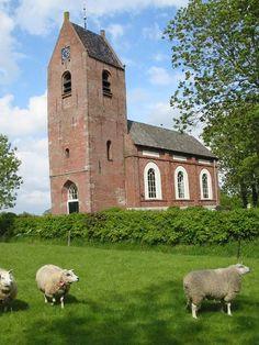 Kerk - Saaksum -  Groningen.