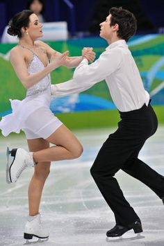 Tessa Virtue is Ice's answer to Royalty. Always elegant and has the most magnificent costumes. Scott is the perfect partner.