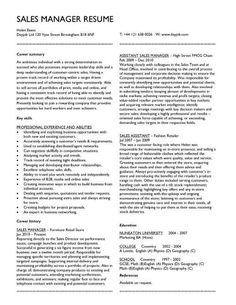 Marketing Manager Resume Objective Medical Sales Resume  Focus  Pinterest  Sample Resume And Medical .