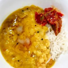 Pressure Cooker Rice and Dal is Indian comfort food made easy. Once you learn how to make rice and dal at the same time in your Instant Pot, putting together a nutritious dinner will be easy as—well as dal and rice! Pressure Cooker Rice, Instant Pot Pressure Cooker, Pressure Cooker Recipes, Pressure Cooking, Indian Food Recipes, Real Food Recipes, Free Recipes, Power Cooker Recipes, Gluten Free Cooking