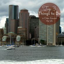 Top 3 Things to Do in Cities Around the US - from family travel bloggers.