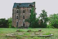 Abandoned Mary Allen Seminary, Crockett, Texas.