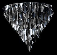 Silver Spangle, designerskie oświetlenie.