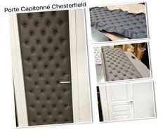 Sticker Porte Capitonnée Chesterfield Blanc X Cm Porte - Kit capitonnage porte
