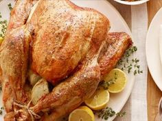 Get Roast Turkey with Wild Rice, Sausage, and Apple Stuffing Recipe from Food Network