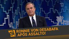 Ronnie Von faz desabafo após ser assaltado! - TV Gazeta