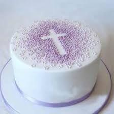 Resultado de imagen para cake decorating for baptism