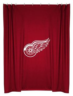 Use this Exclusive coupon code: PINFIVE to receive an additional 5% off the Detroit Red Wings Shower Curtain at SportsFansPlus.com