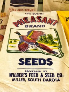 Vintage flour sack from a private collection-at the MN State Fair