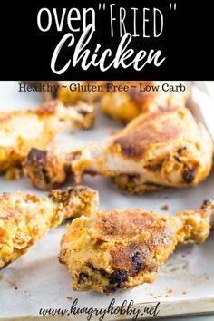 Oven Fried Chicken is a healthy tasty dinner that will totally  Mein Blog: Alles rund um die Themen Genuss & Geschmack  Kochen Backen Braten Vorspeisen Hauptgerichte und Desserts