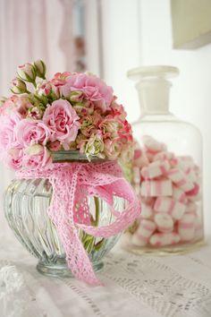 syflove: pretty pink roses Delicado y lindo