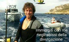Meme dal gruppo fb Angelers - Fan di Alberto Angela