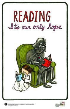 Reading. It's our only hope.