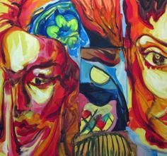 "For Sale: Portraits by Shant  Beudjekian   $100   30""w 30""h   Original Art   http://www.arttwo50.com/buy/art/portraits"