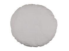 Dekoratives Kissen aus Leinen/Baumwoll- oder Baumwoll-Stoff. Leinen: grau…