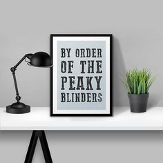 My illustration of The Peaky Blinders. Quality paper. Printed after order, upto 48 hours print & dispatch time. No frame included: print only.