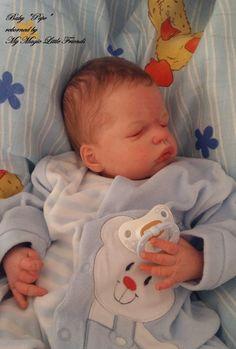 Reborn- Baby ( Reallife)    Pepe  nach Bausatz Mix Olga Auer