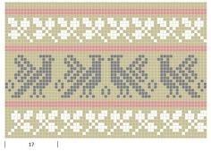 Mustrilaegas: A Kudumine / Knitting Tapestry Crochet Patterns, Knitting Paterns, Knitting Charts, Mosaic Patterns, Knitting Stitches, Cross Stitch Bird, Cross Stitch Patterns, Swedish Weaving Patterns, Filet Crochet Charts