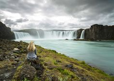 Waiting For The Gods - Goðafoss, Iceland