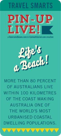 #PinUpLive Travel Smarts - Life's a Beach!