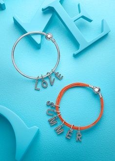 Show It With The Sparkling Letter Pandora Bracelet Charmspandora