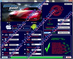 Racing Duel Astuce Triche Cheat