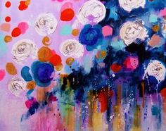 Abstract Painting Contemporary Art Original Canvas