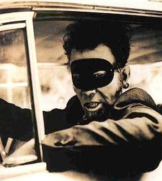 """Tom Waits in cover shoot for """"Wire"""" Magazine."""