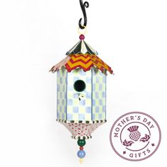 Mom's winged visitors deserve a whimsical abode! #mothersday #mothersdaygifts #gifts