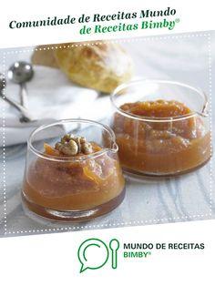 Compota de abóbora com nozes de Equipa Bimby. Receita Bimby<sup>®</sup> na categoria Sobremesas do www.mundodereceitasbimby.com.pt, A Comunidade de Receitas Bimby<sup>®</sup>.
