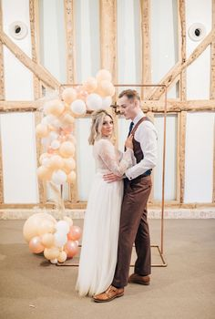 Natural Barn Wedding - Wedding Balloons from Creative Decorations Rose Gold Balloons, Balloon Flowers, Wedding Balloons, Wedding Shoot, Wedding Dresses, Barn Wedding Inspiration, The Blushed Nudes, Barn Weddings, Bride Bouquets