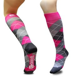 Remember when compression socks were ugly?! NO MORE! Love these amazing styles by Bondi Band :)