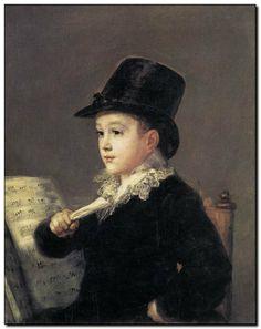 Schilderij van Francisco José De Goya y Lucientes - mypainting http://www.mypainting.nl/webshop/104934-Francisco-Jos-de-Goya-y-Lucientes