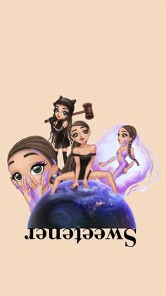 "This picture is from "" God is a woman"" Ariana Grande Background, Ariana Grande Wallpaper, Tumblr Wallpaper, Wallpaper Backgrounds, Iphone Wallpaper, Ariana Grande Drawings, Ariana Grande Photos, Ariana Grande Sweetener, Cute Drawings"