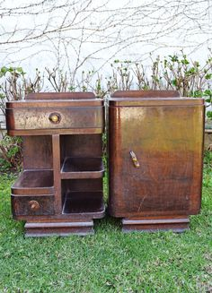 you will not recognize them after makeover , home decor, painted furniture, repurposing upcycling